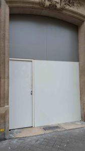 Porte Cochère 134 Bd Saint Germain 0 Panneau Provisoire
