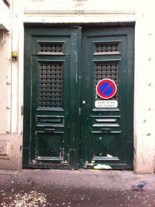 Porte Cochère Italie 1