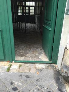 Porte Cochère Rue Des Pavillons 11