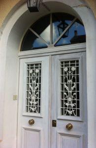 Porte Pavillon Moulurée Deux Vantaux Robien 2