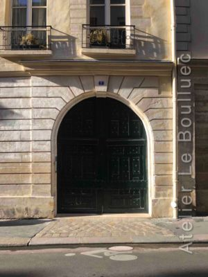 Porte Cochère Louis XIII - 7 Rue Charles V - Paris 4